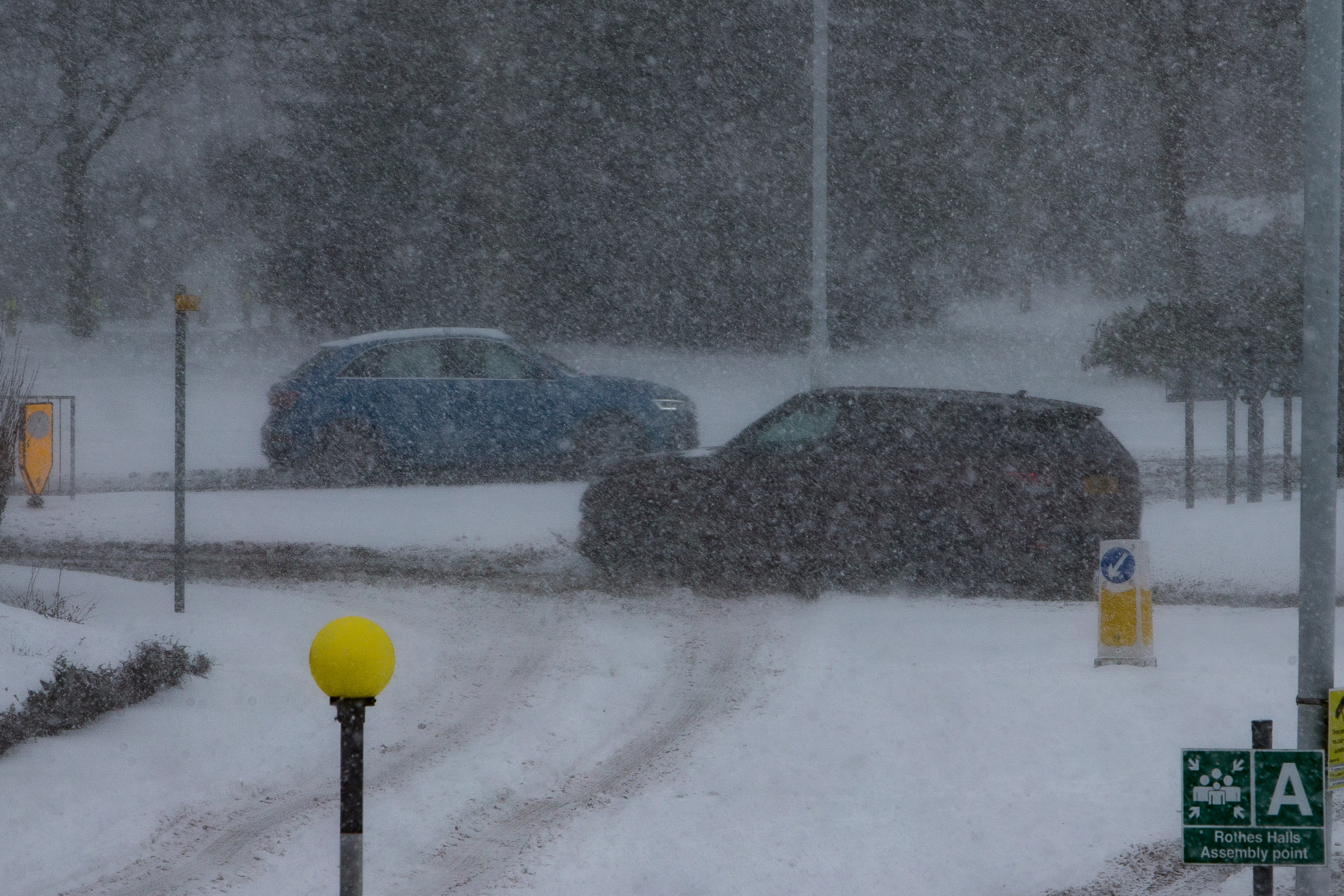 4x4 drivers answered the call to get staff to work during the worst of the weather