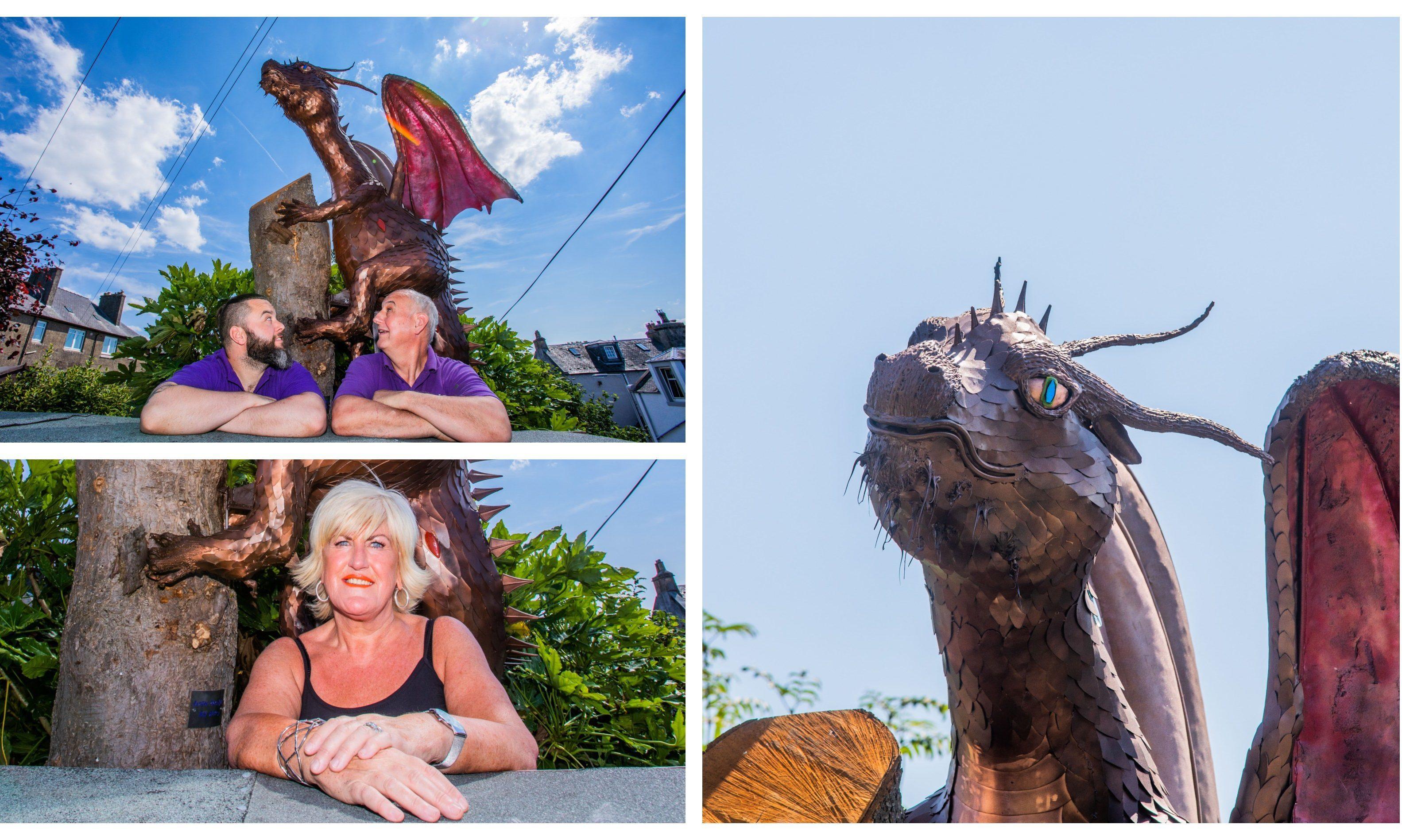 """Fiona's Dragon"" in Limekilns."