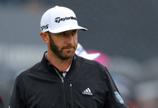Dustin Johnson missed the cut.