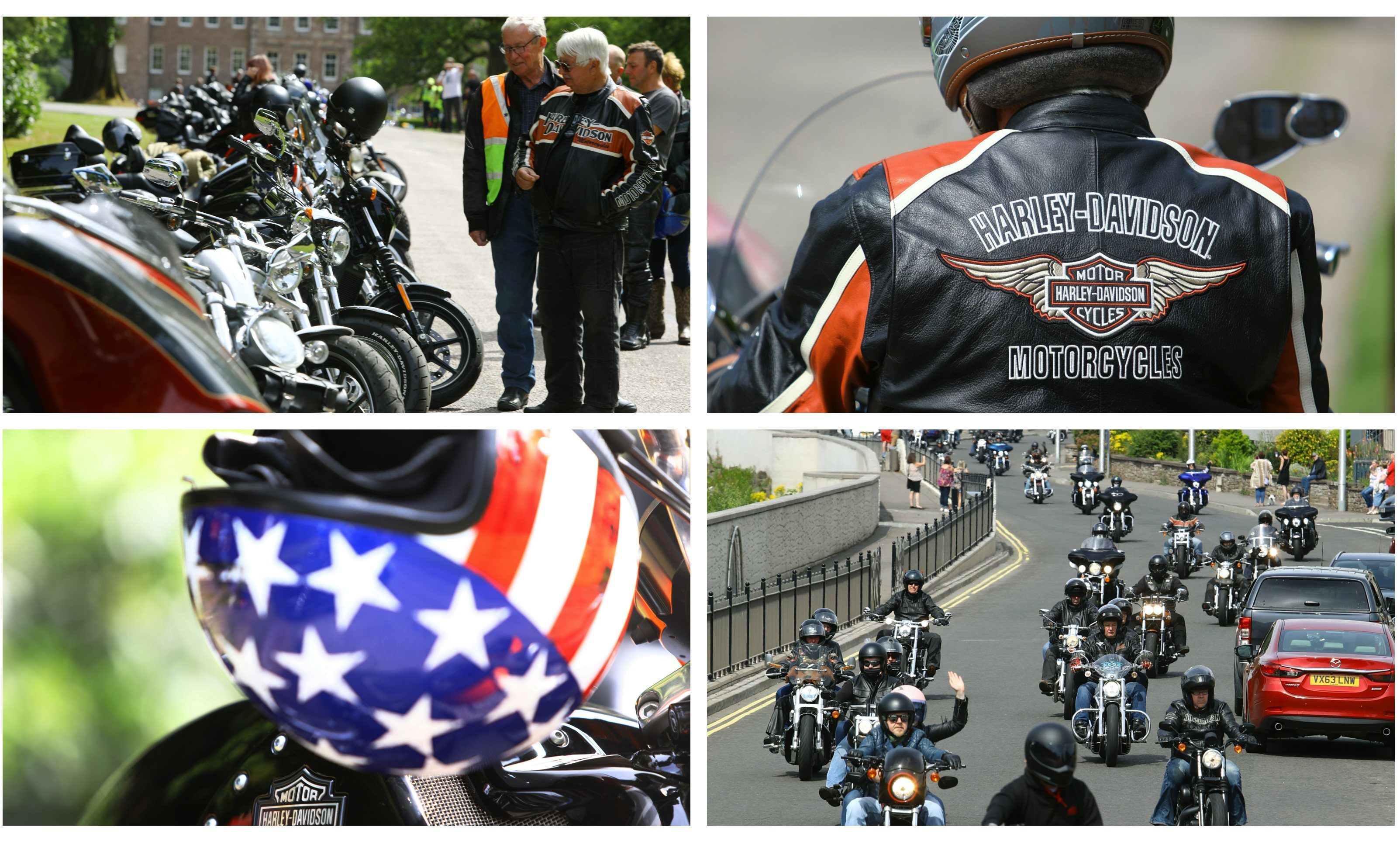 Harley-Davidson in the City Motorcycle Festival.