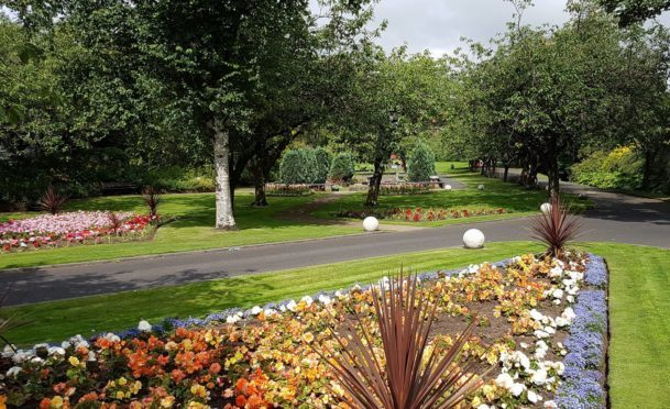 Letham Glen is one of seven award winning sites.
