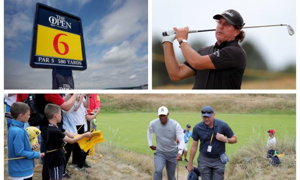 The Open is under way at Carnoustie.