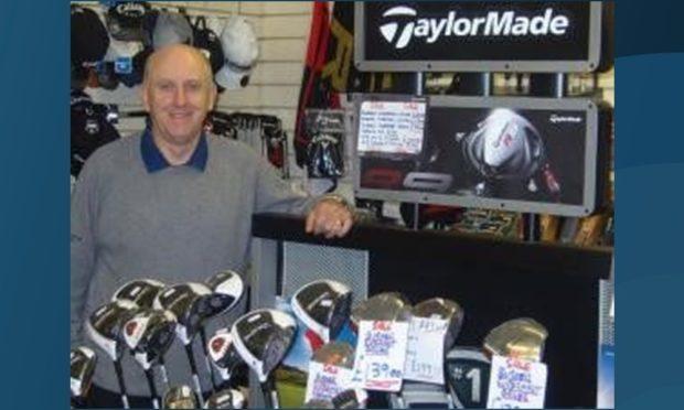 Forfar Golf Club professional Peter McNiven.