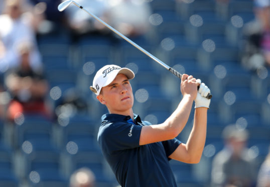 Sam Locke won another title at Carnoustie.
