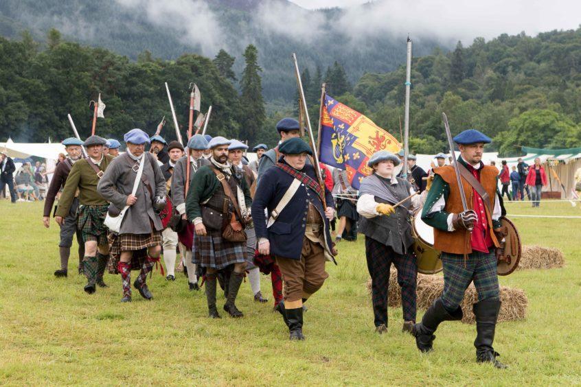 The Battle of Killiecrankie re-enactment 2018