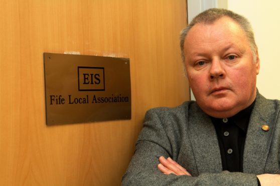 David Farmer, from the Fife EIS
