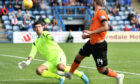 Pavol Safranko get soff the mark against Queen of the South.