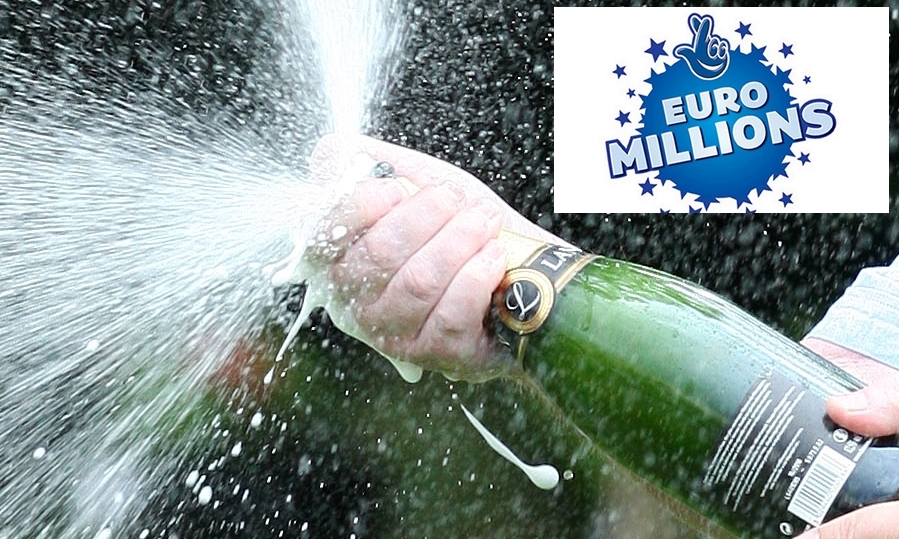 The champagne will be flowing in Angus as a result of the massive lottery win.