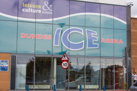 Dundee Ice Arena, home of the Dundee Stars.
