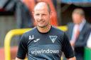 Dunfermline manager Allan Johnston.