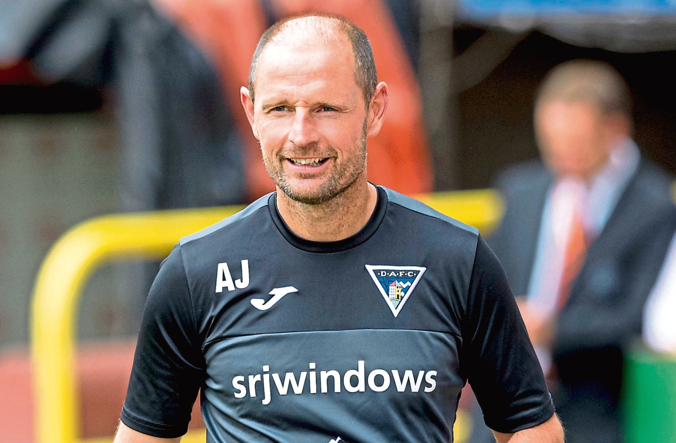 Dunfermline manager Allan Johnston.