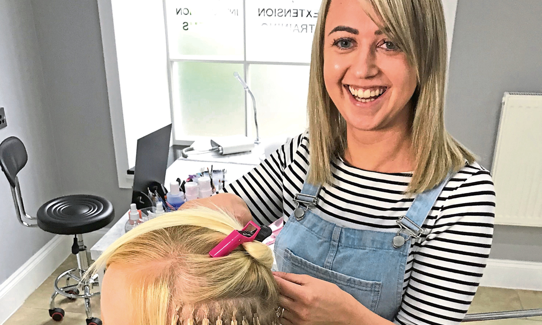 Katrina Scott of Boni Hair & Beauty.