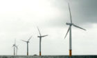The proposed Inch Cape wind farm is one of three major developments in the Outer Firths of Tay and Forth.