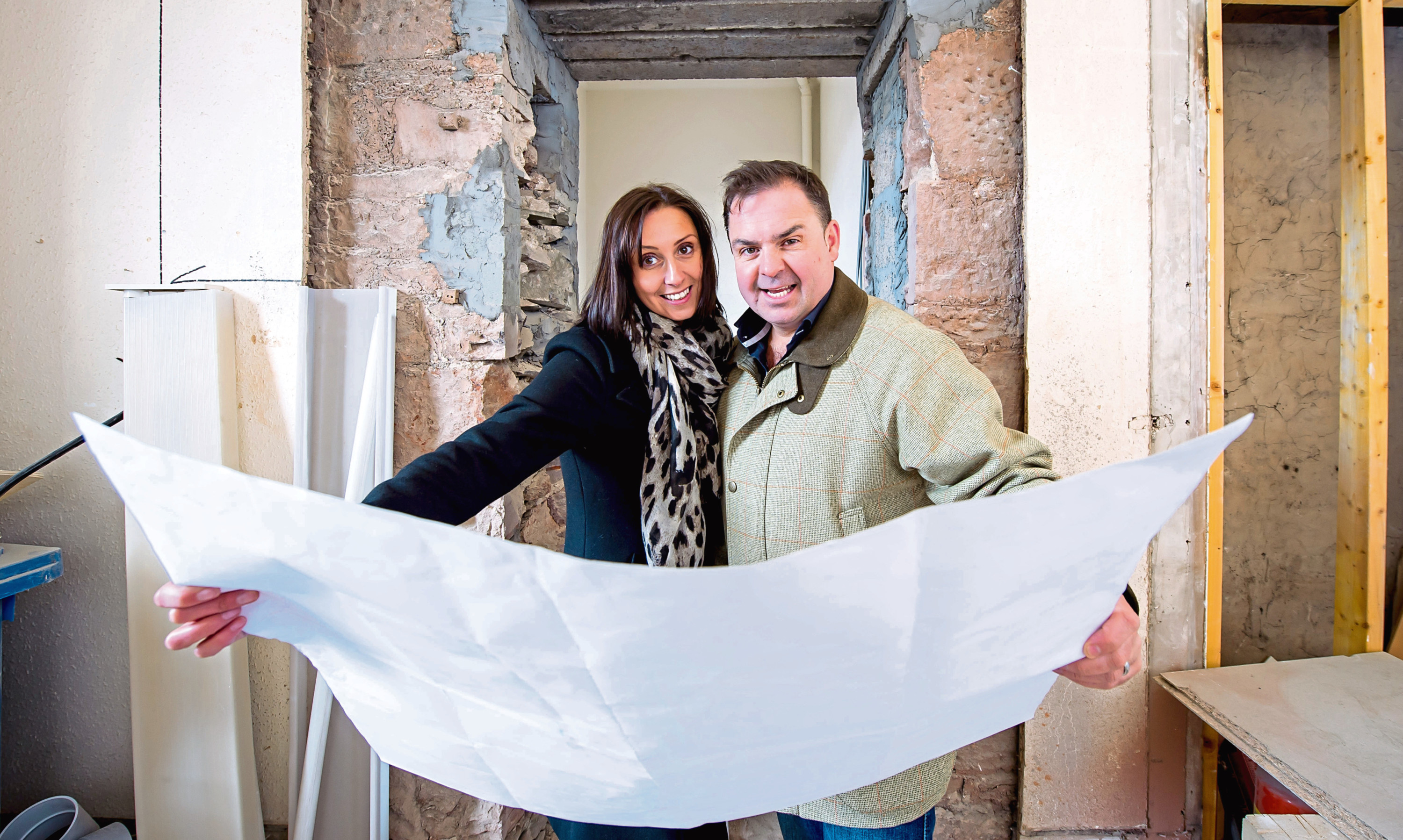 Leanne and Graeme Carling have big plans to expand their property empire.