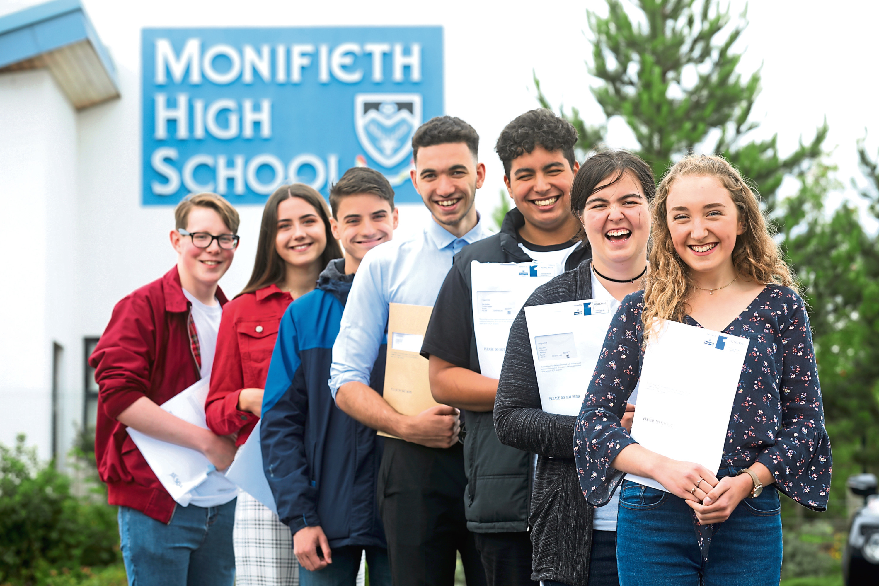 Monifeith High had some of the best higher results in Angus.