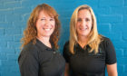 Lynne Falconer and Sally Kiddie, owners of Heal Physiotherapy