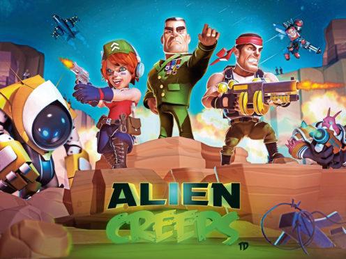 Outplay Entertainment's Alien Creeps game.