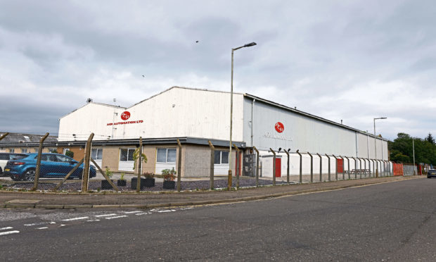 AGR Automation's premises at Elliot Industrial Estate, Arbroath.