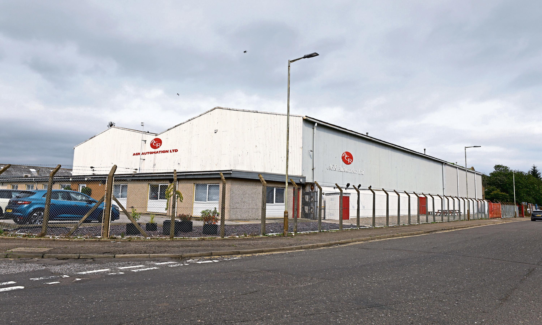 AGR Automation's premises at Elliot Industrial Estate, Arbroath.