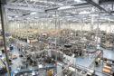 Diageo's Leven bottling facility.