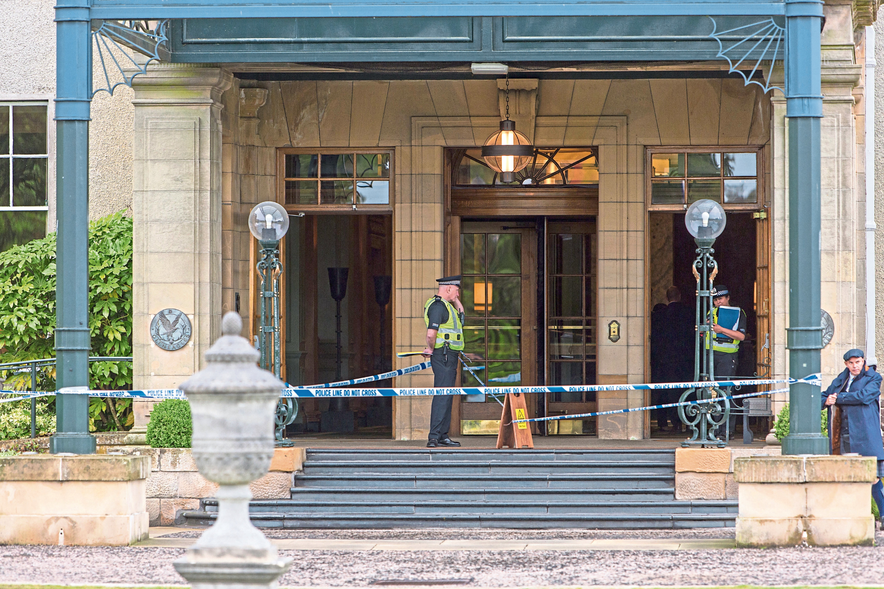 The scene at the Gleneagles Hotel in June 2017.