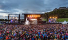 Thousands gathered at Stirling Castle for Runrig's final two shows.   Photo courtesy of  Runrig/Andrew King.