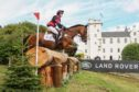 Chuffy Clarke and Second Supreme competing at Blair Horse Trials.