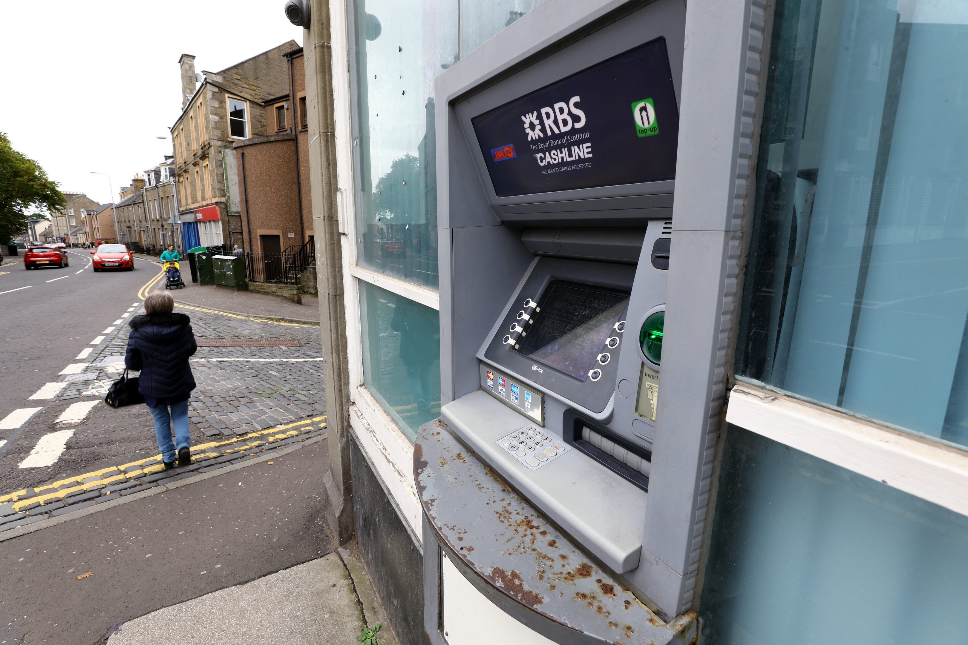 RBS plans to remove its ATM on the Perth Road in Dundee