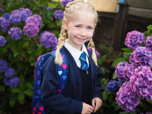 Emily Stephen started at Coupar Angus Primary on Tuesday - good luck Emily!