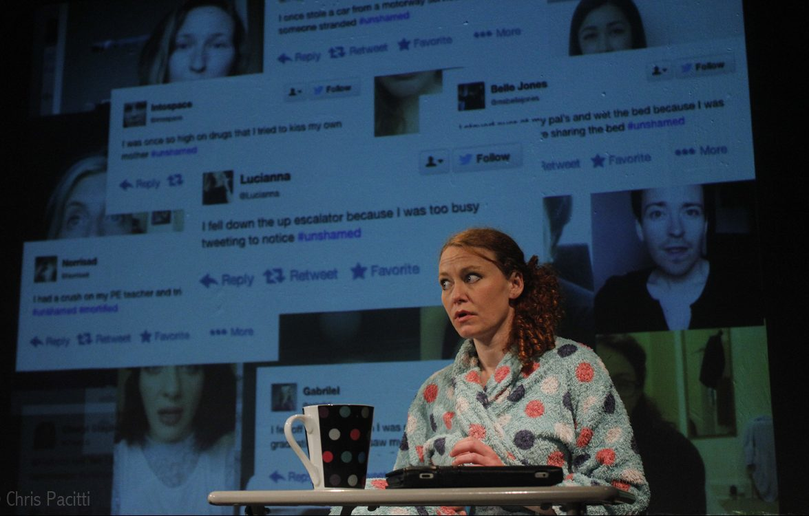 Belle Jones wrote and stars in Shame at the Edinburgh Fringe