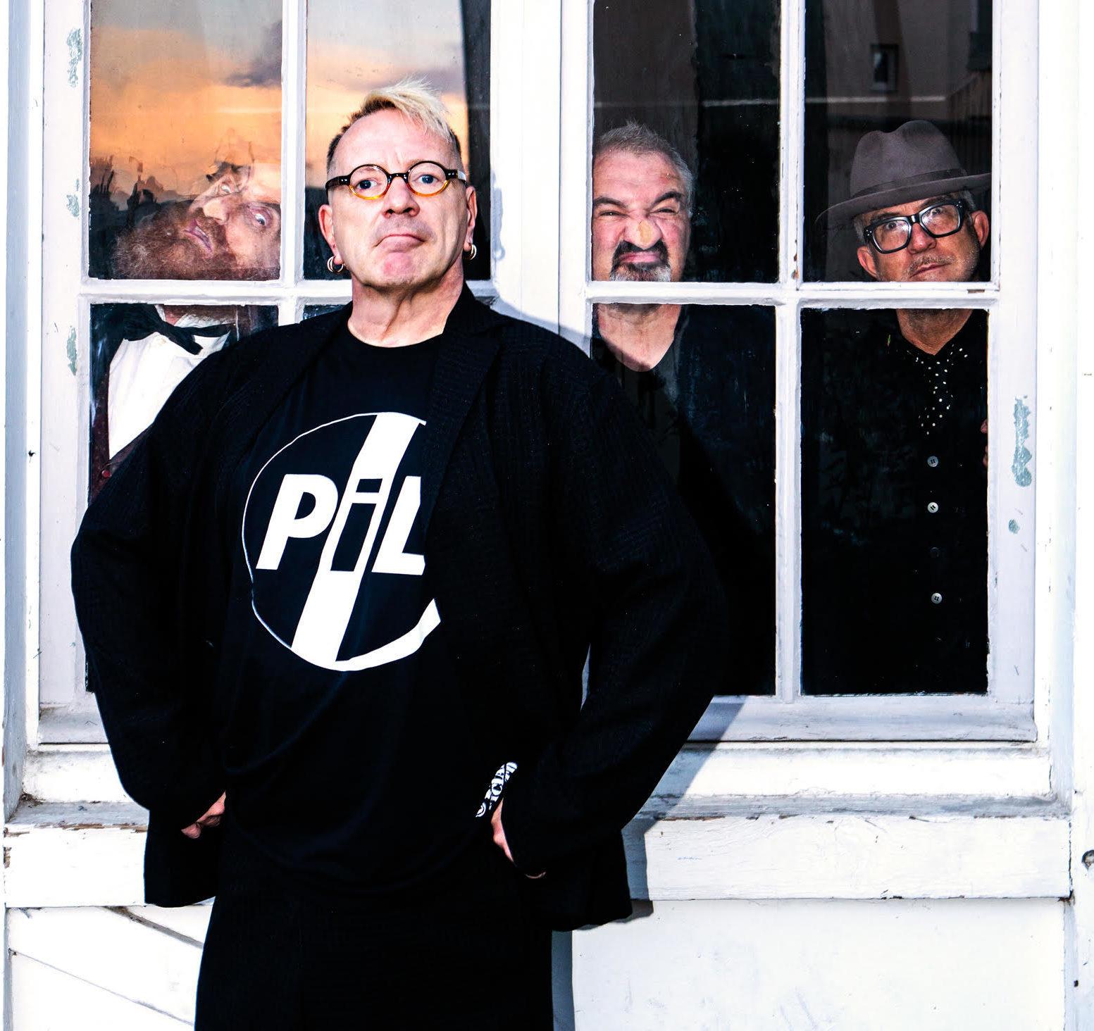 Former Sex Pistol John Lydon.