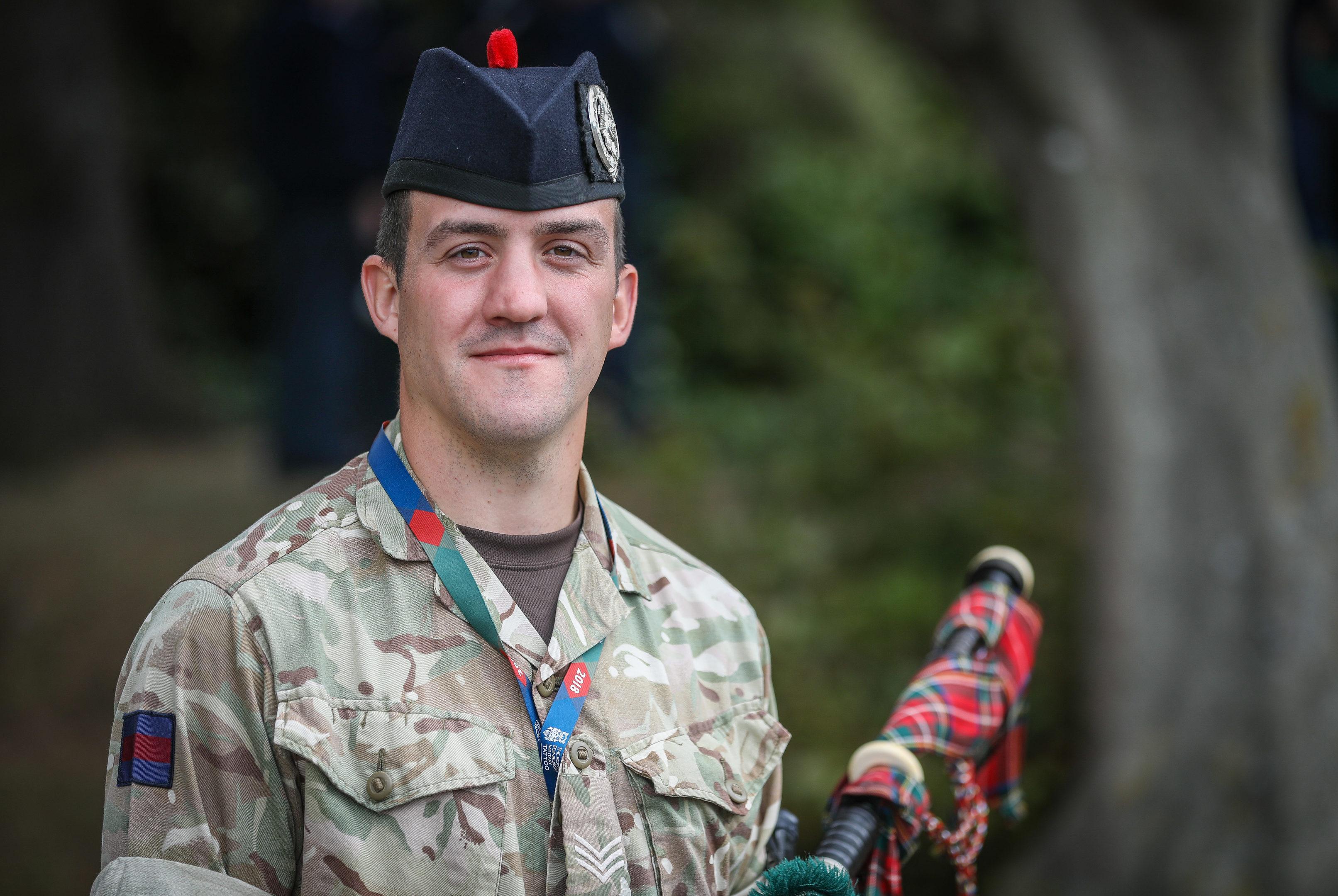 Lance Sergeant John Mitchell of Dundee