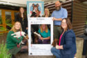 At the launch of the Angus Ambassadogs serach at Forbes of Kingennie (back) Claire Lornie, Ann-Marie Black, Morag and Stuart Clark (front) Libby Sutherland, Louise Nicoll and Vicky Gunn,