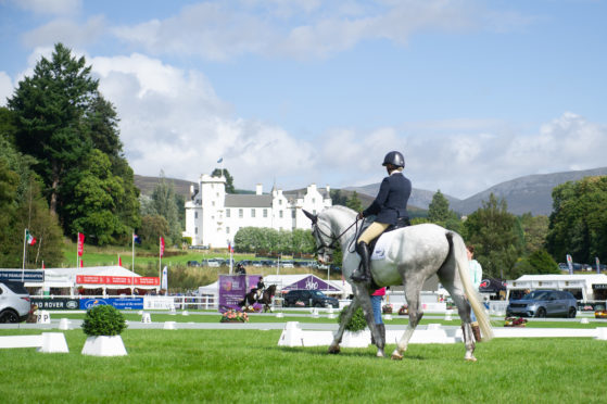 The Blair Castle International Horse Trials attracted thousands of competitors and spectators to Highland Perthshire.