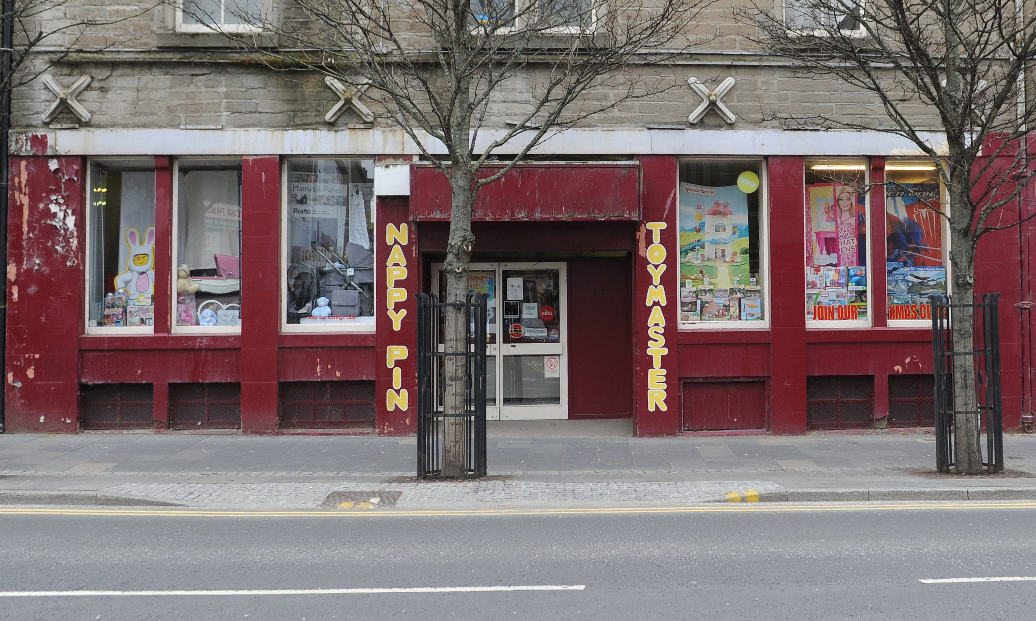 The Nappy Pin and Toymaster in Dundee.