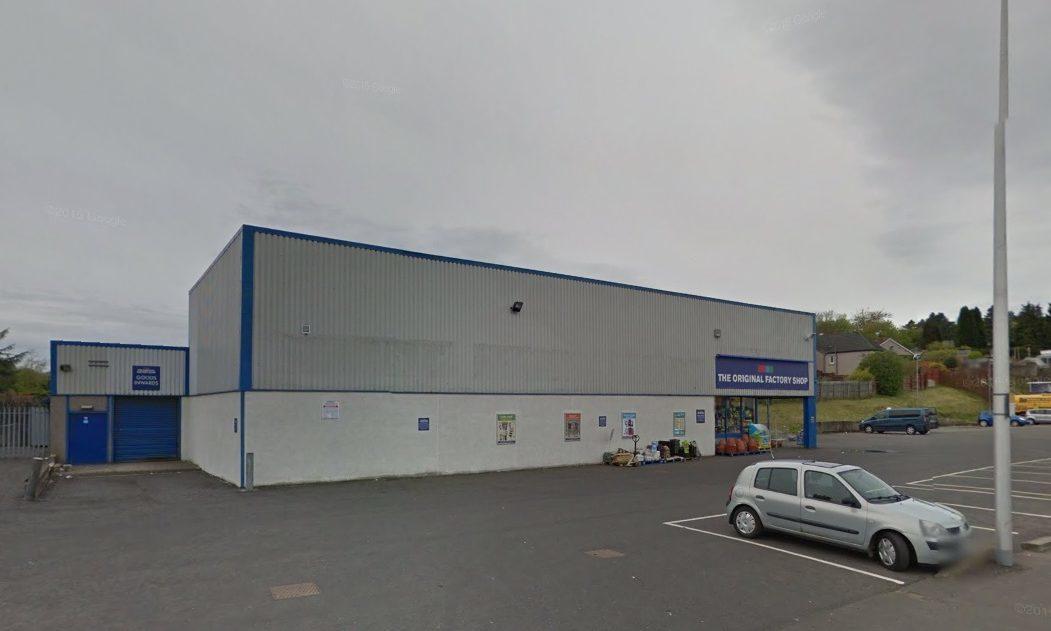 The Original Factory Shop in Crieff Road, Perth