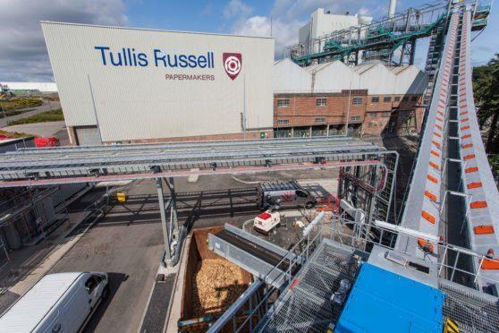 The RWE plant.