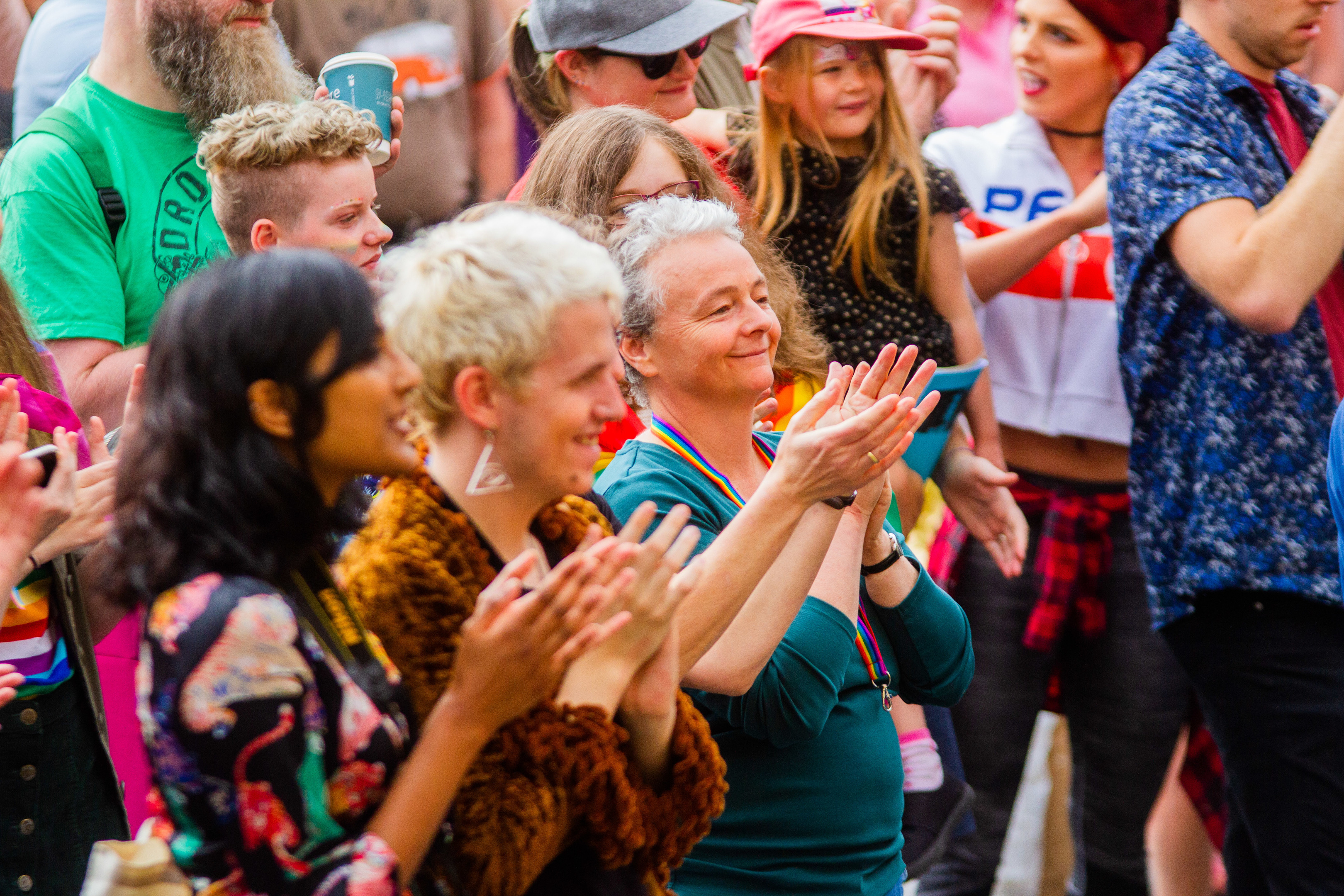 The first Perthshire Pride event in August 2018.