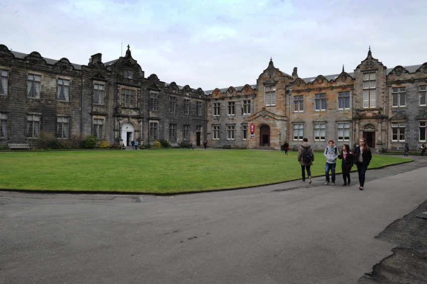 St Andrews University.