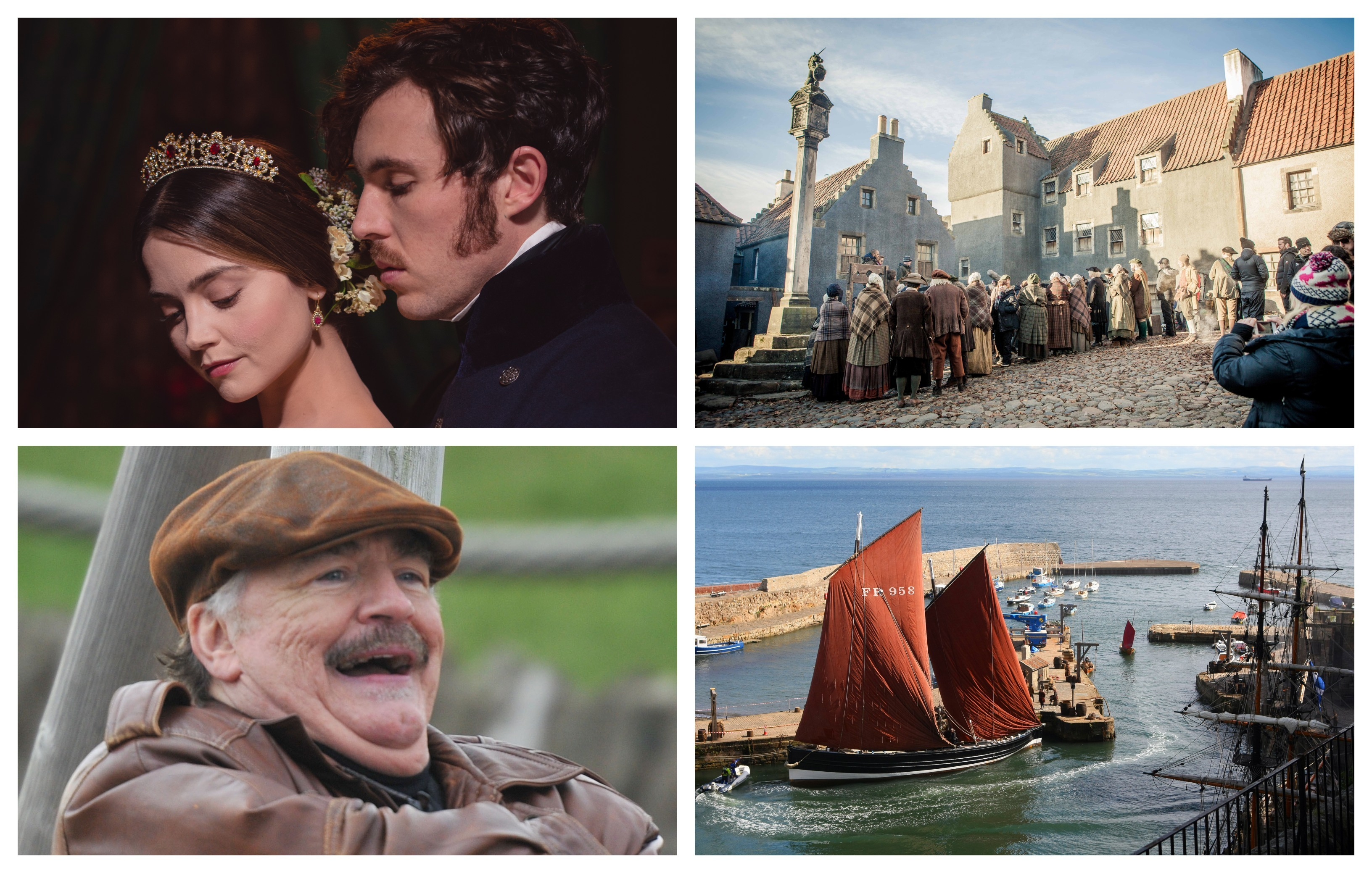 Outlander, Bob Servant and Victoria are among the TV shows filmed in Courier Country.