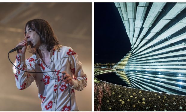 Primal Scream will play at the V&A's opening.