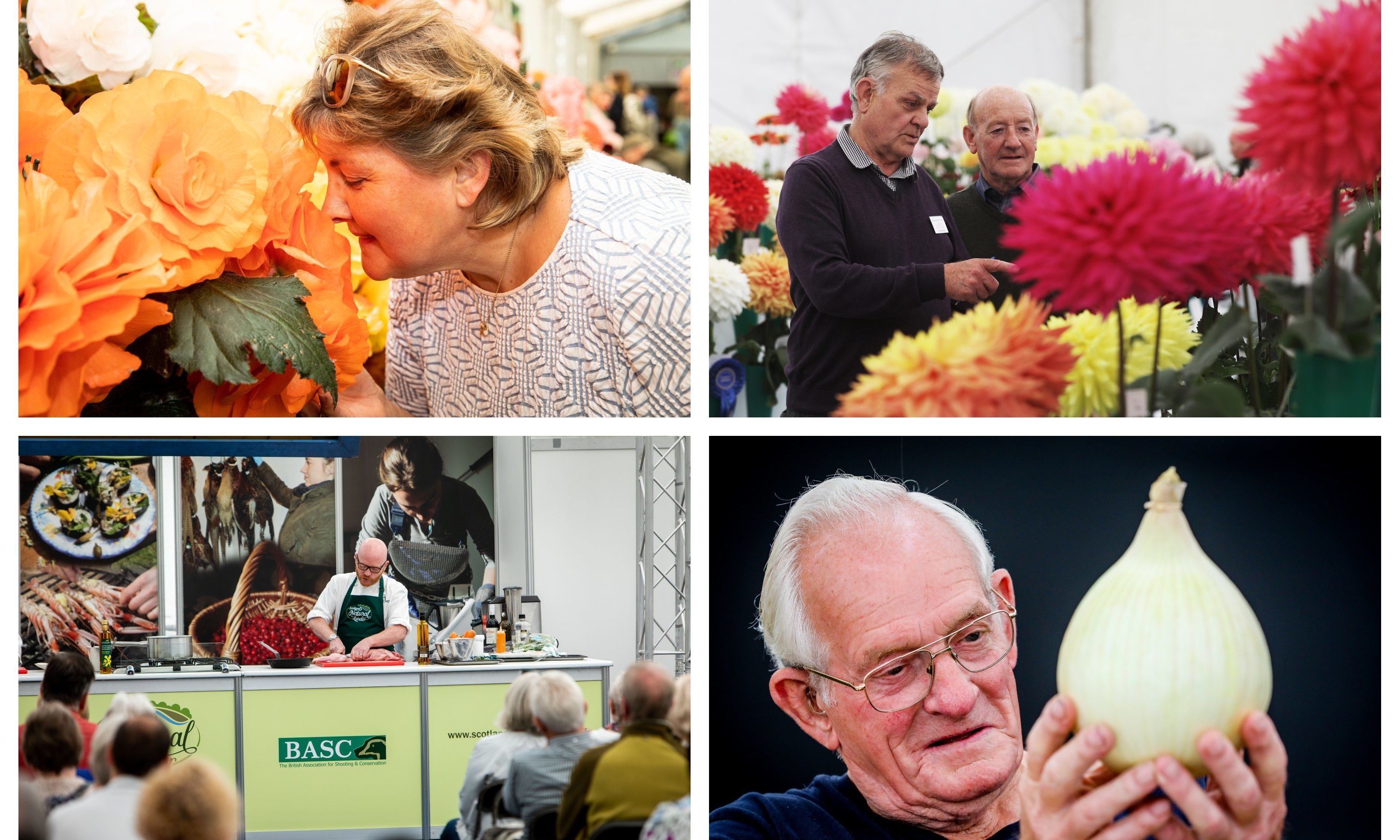 Day one of the Dundee Flower and Food Festival 2018.