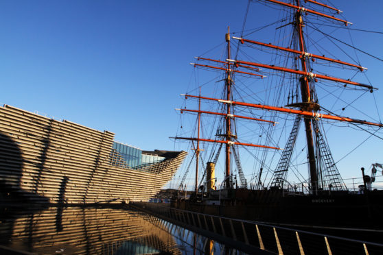 Discovery Point, Dundee is a popular destination for tourists