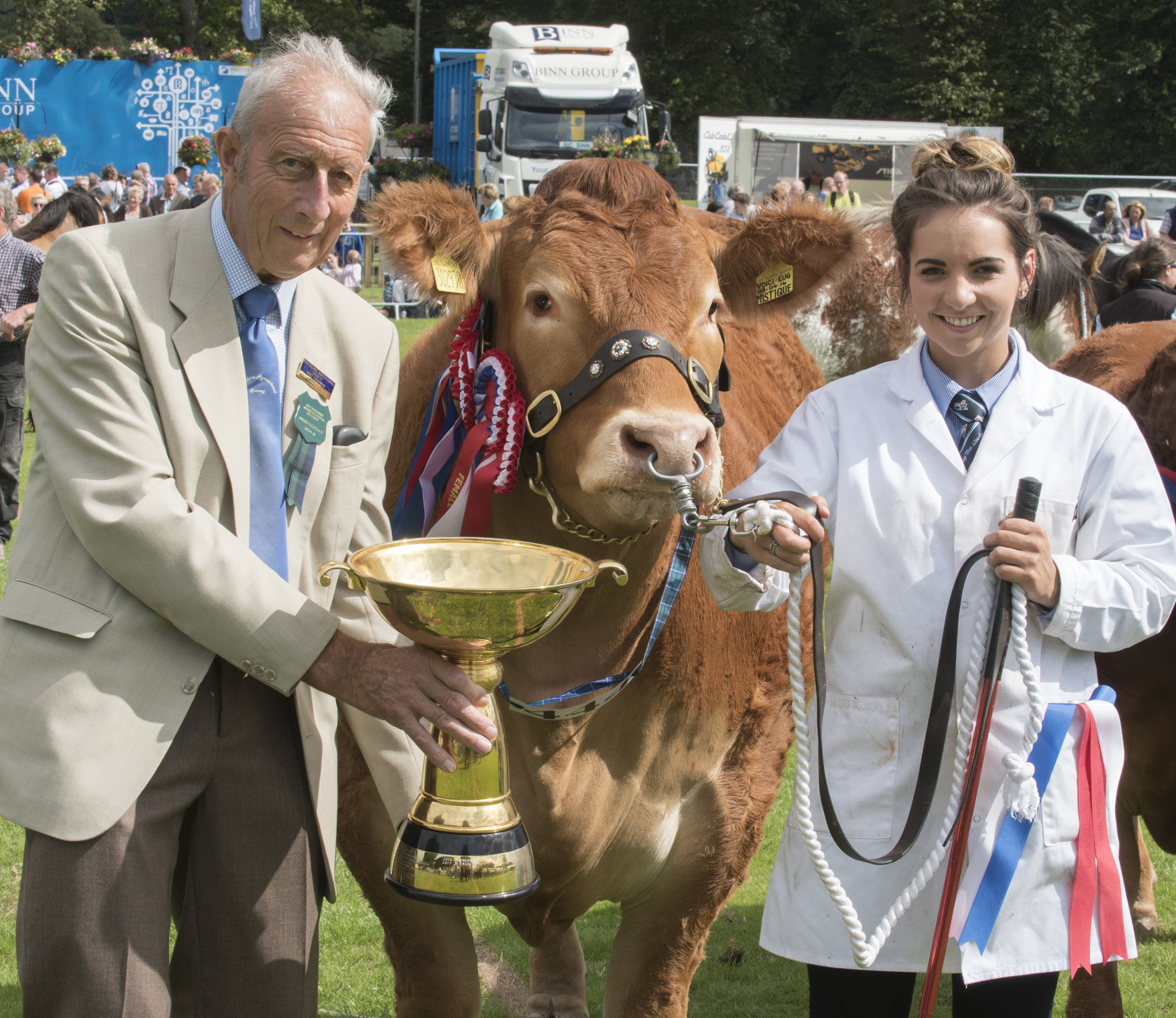 Stephanie Dick won the Angus Howie Trophy for the event's champion of champions.
