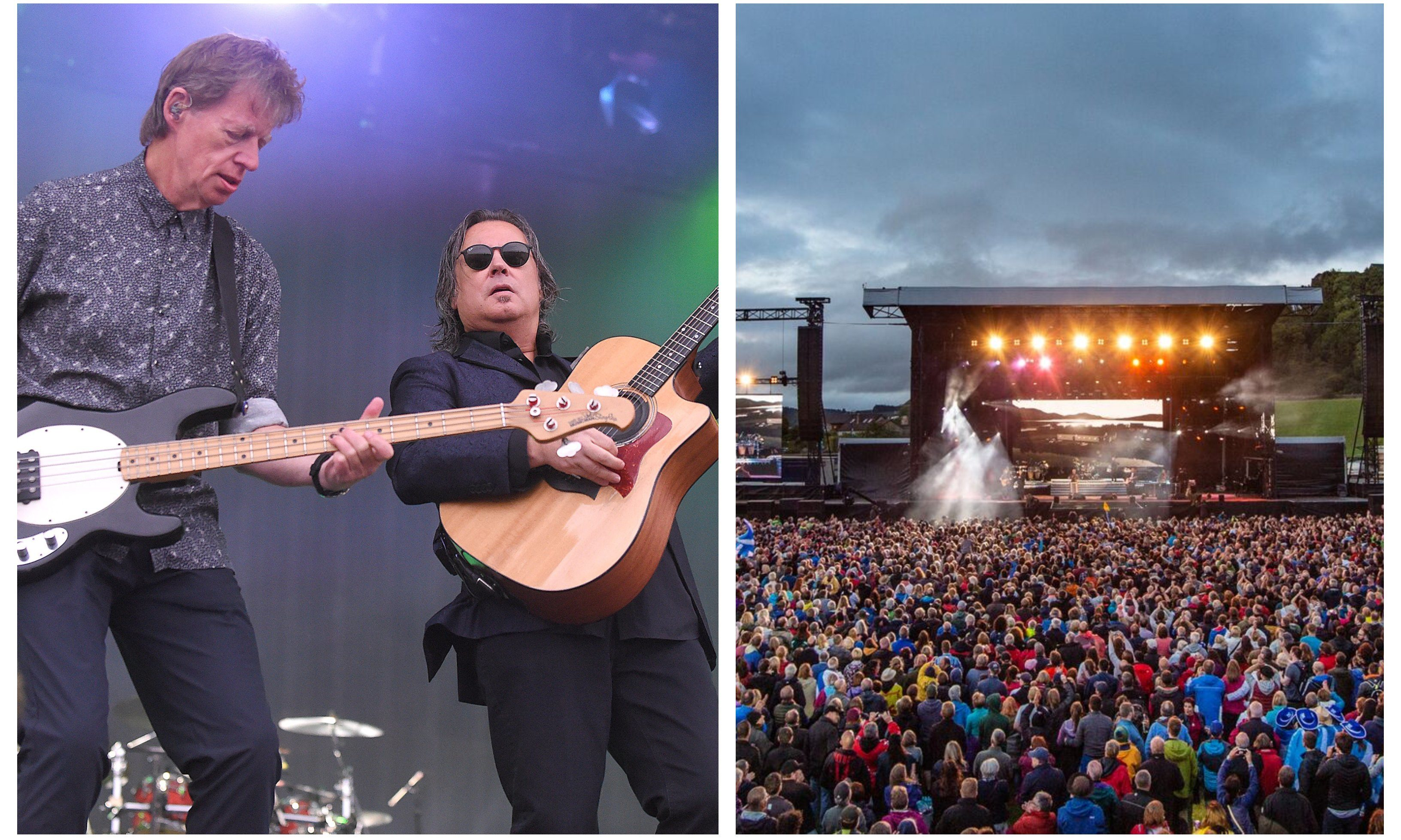 The last ever Runrig show.