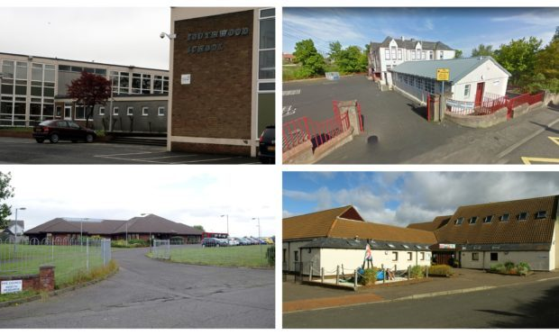 Pictured are some of the primary schools, nurseries and community centres across Fife which could be rebuilt or refurbished under the ambitious plans.