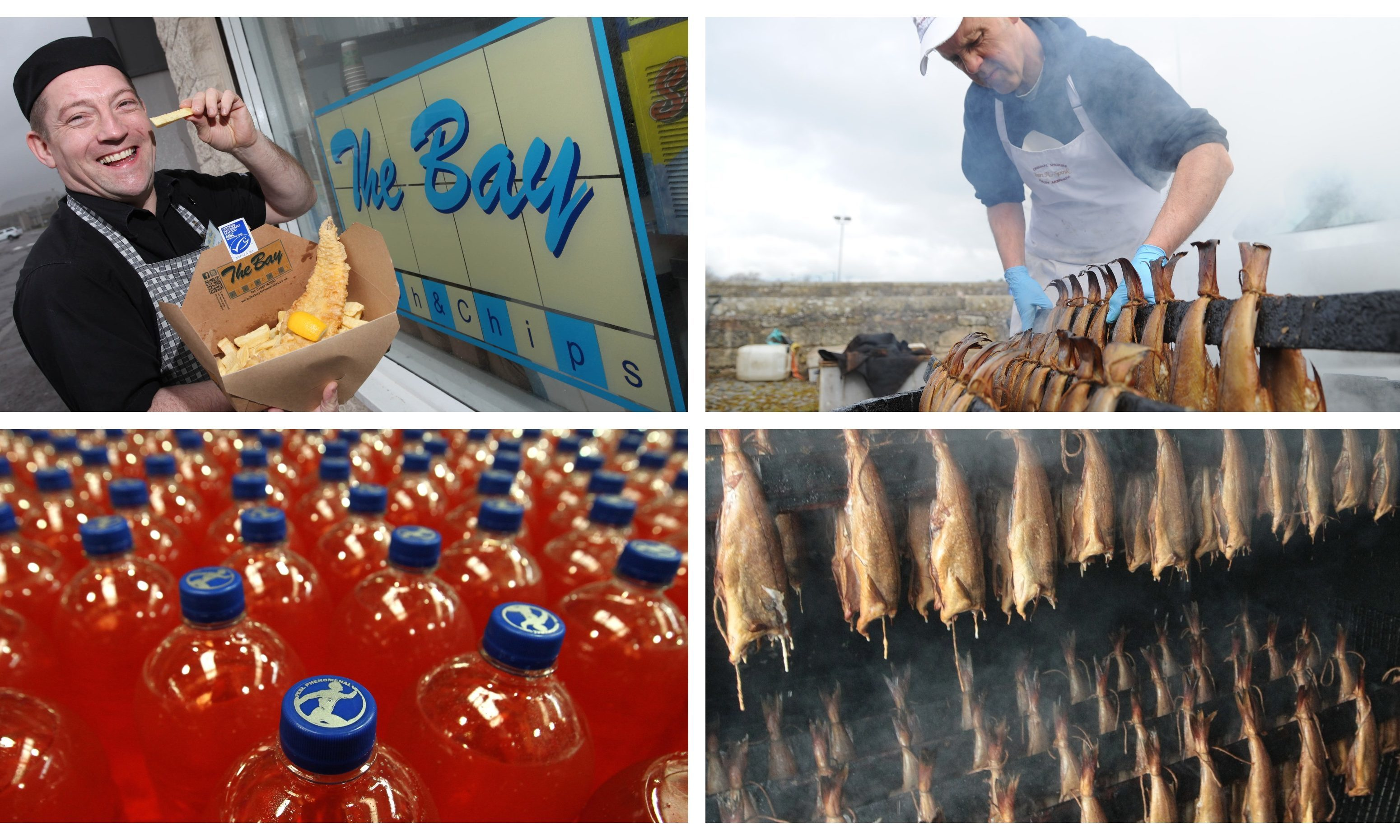 The Bay Fish and Chips in Stonehaven and Arbroath smokies were named by Lonely Planet on the list.