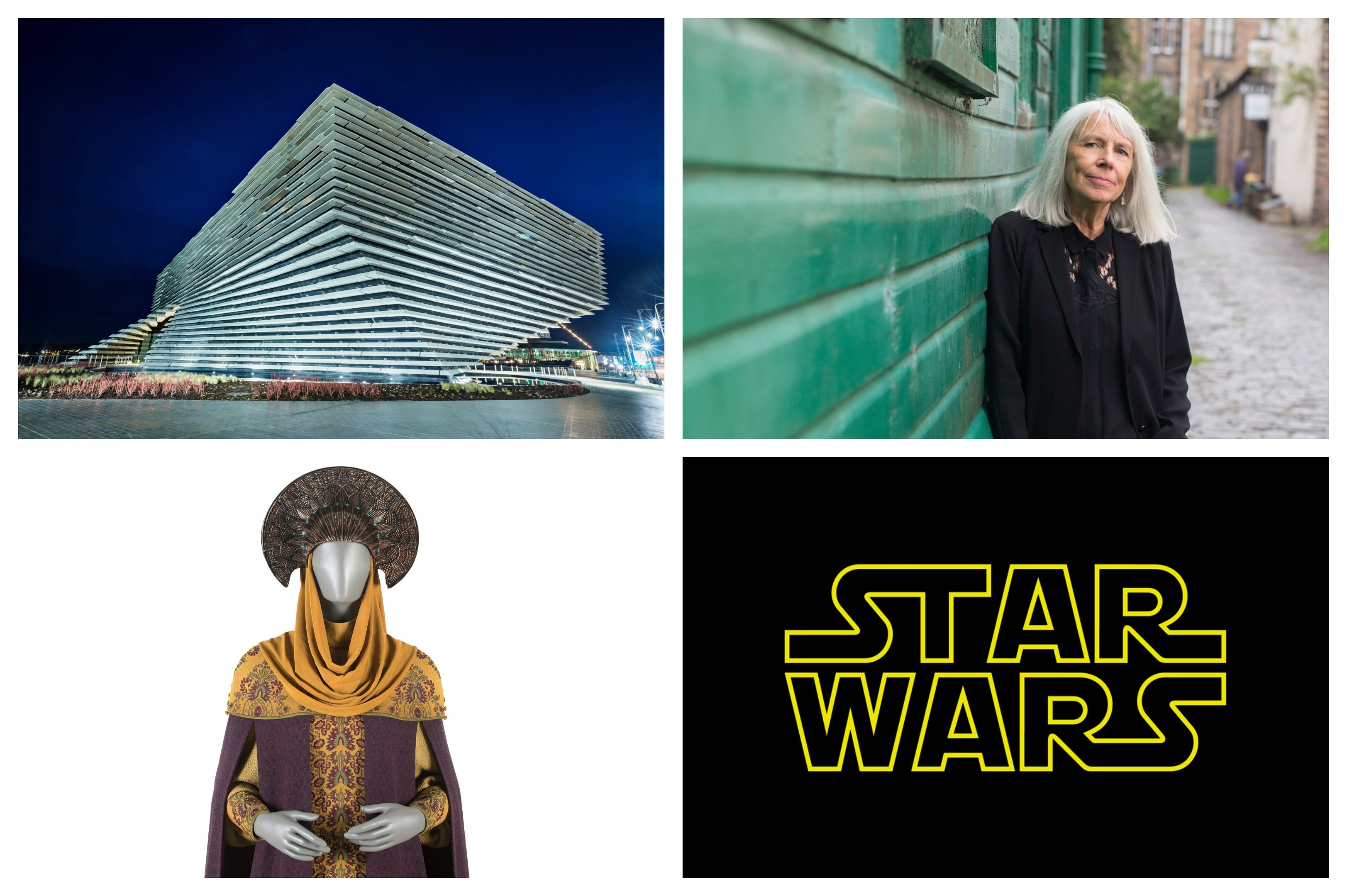 Trisha Bigger's Star Wars gown will be on display at the V&A.