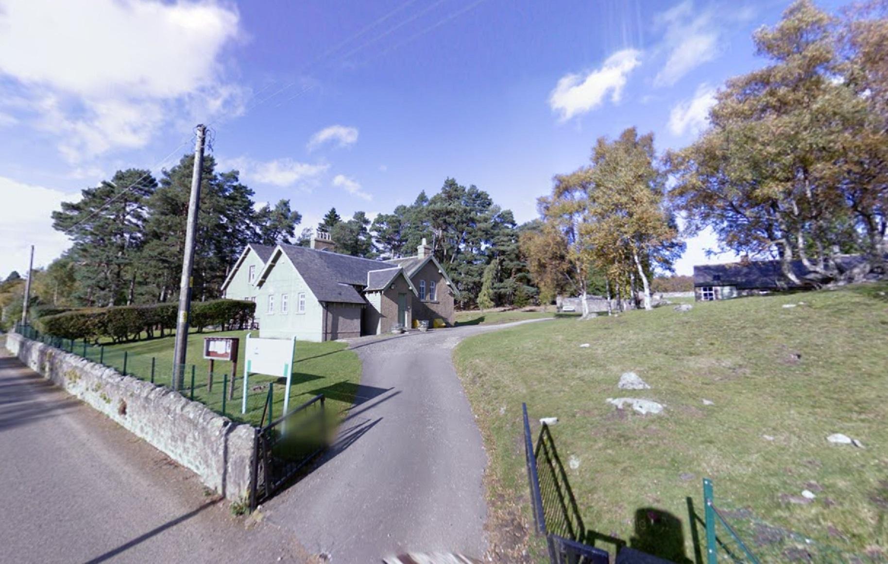 Tarfside primary school.