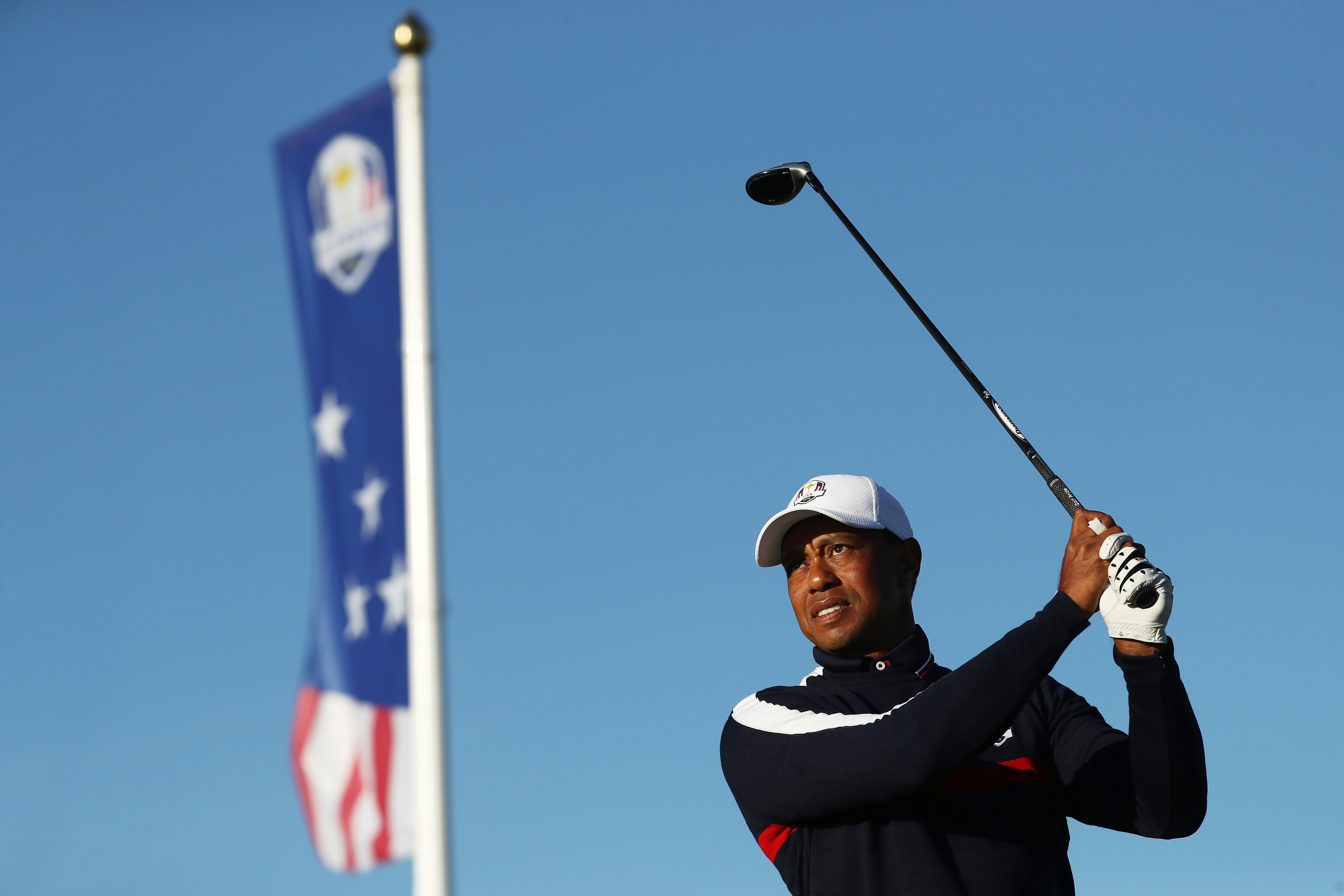 The resurgent Tiger Woods hasn't done so well in US colours in the Ryder Cup.